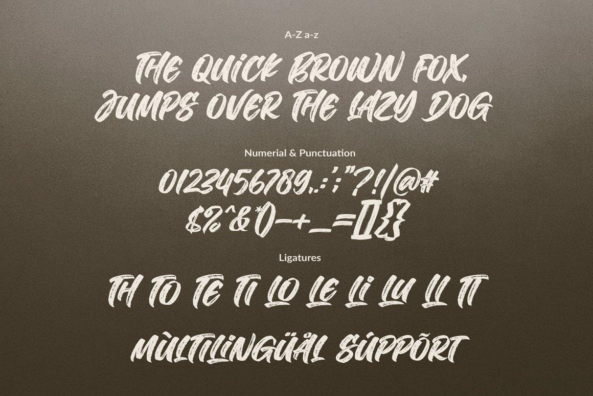 The Deliver Font-3