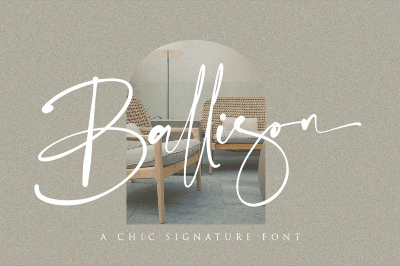 Ballison Font