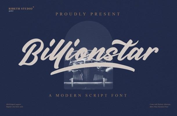 Billionstar Font