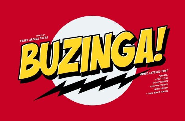 Buzinga! Font