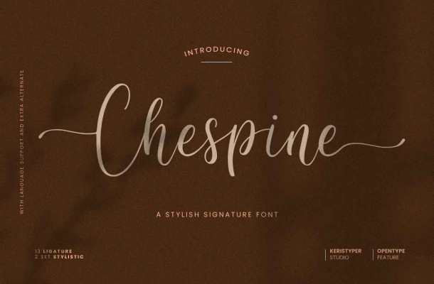 Chespine Font