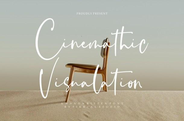Cinemathic Visualation Font