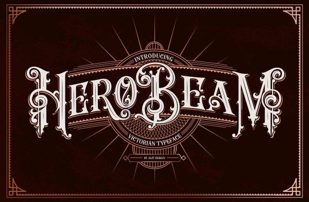 Hero Beam Font
