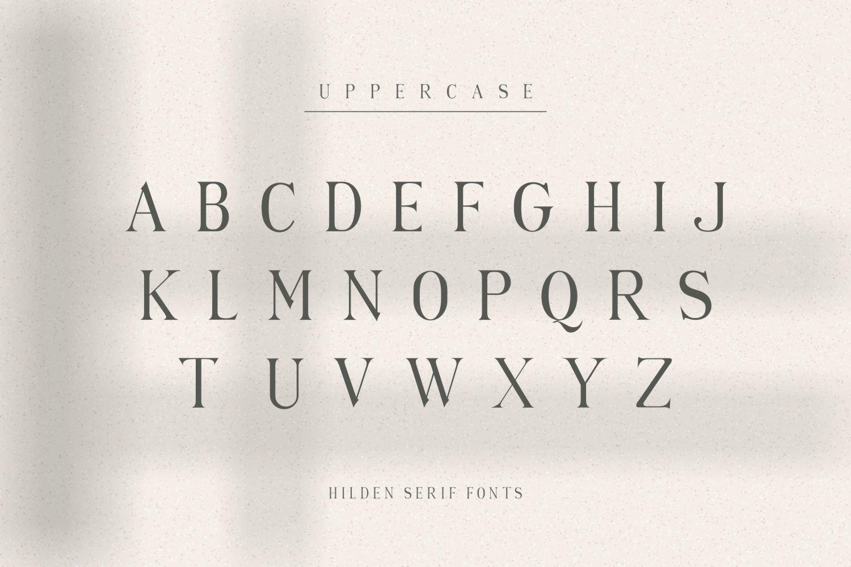 Hilden Font-2