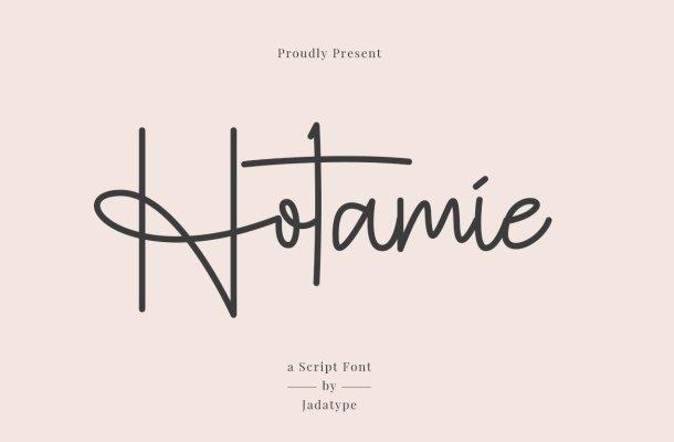 Hotamie Font