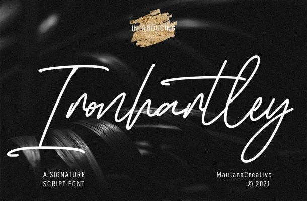 Ironhartley Font