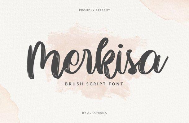 Merkisa Font