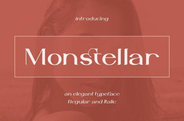 Monstellar Font