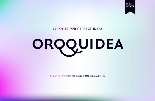 Orqquidea Font