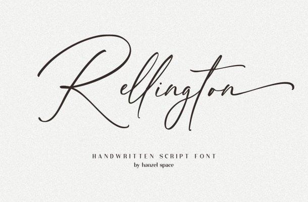 Rellington Font