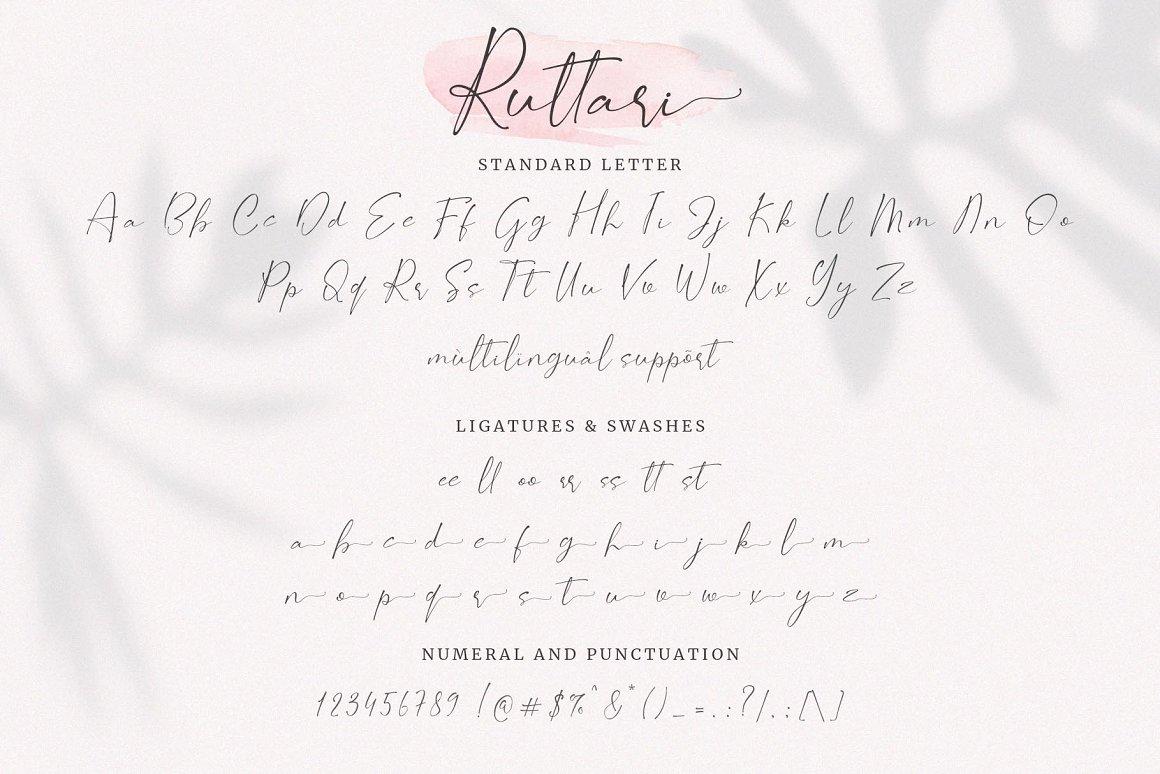 Ruttari Font-3