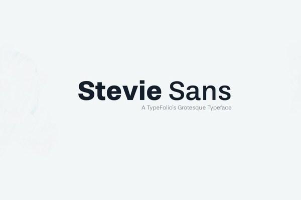 Stevie Sans Font