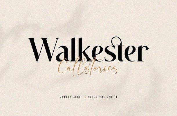 Walkester Font