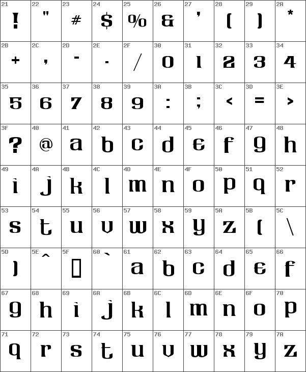 Download Download free LHF Claretian Regular font | dafontfree.net