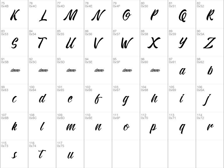 Download Download free Kadisoka Script Regular font | dafontfree.net