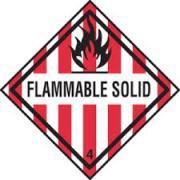 Simbol Bahan Kimia Berbahaya - flammable-solid