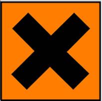 Simbol Bahan Kimia Berbahaya - iritasi