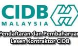 Pendaftaran dan PembaharuanKontraktor CIDB