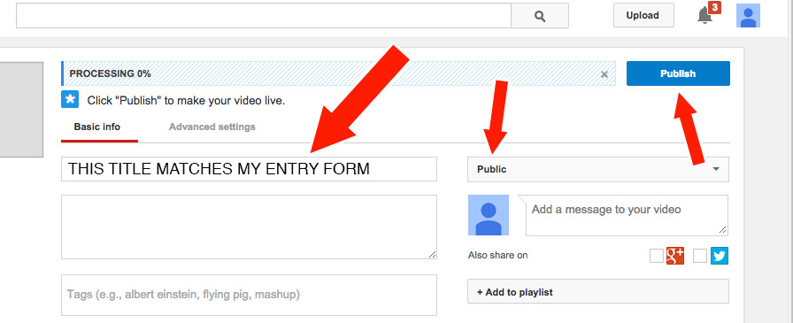 YouTube Upload Step 008