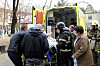 SUCCESS: After the heart patient had been evacuated from the hospital, it became clear that the doctors considered the operation successful. Photo: Russian Emergency Ministry Press / AP / NTB