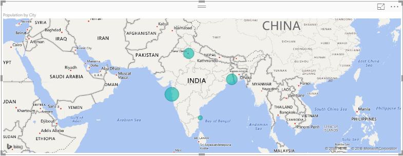 Map Visual Power Bi Desktop