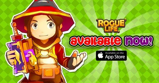 Rogue Life Squad Goals iOS