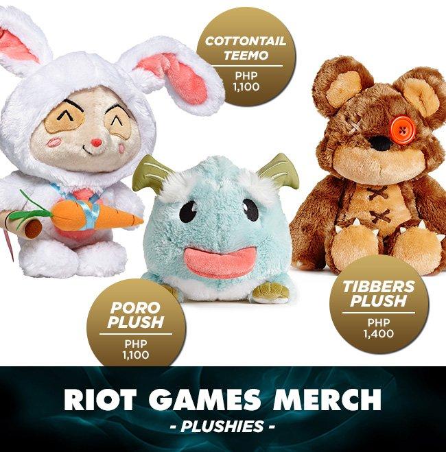 Riot Games Plushies DAGeeks Rampage 2016