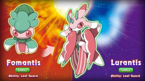New Pokemon Sun and Moon Fomantis Lurantis Image DAGeeks