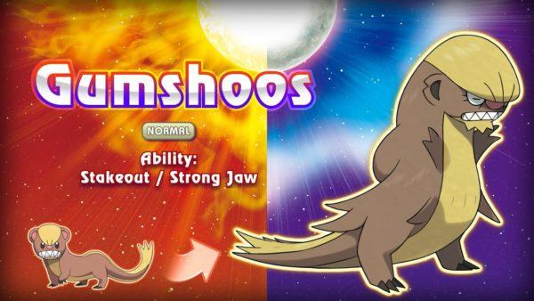 New Pokemon Sun and Moon Gumshoos Image DAGeeks