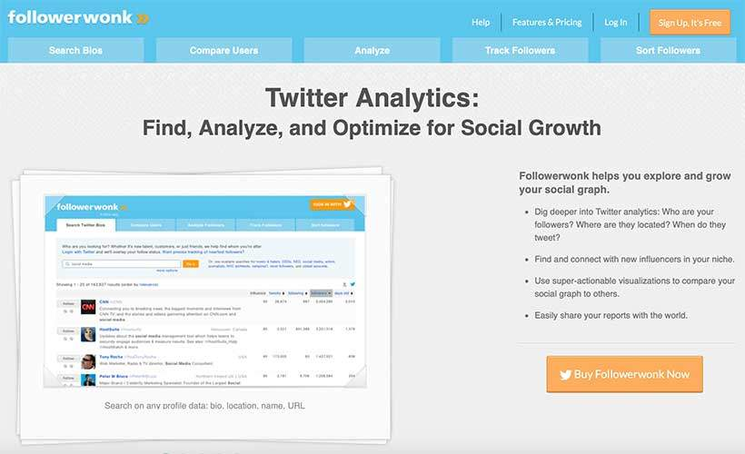 followewonk tool for social media best practices