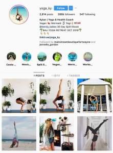 IG health yoga niche daglega