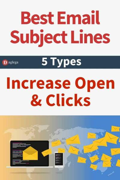 5 best email subject line types