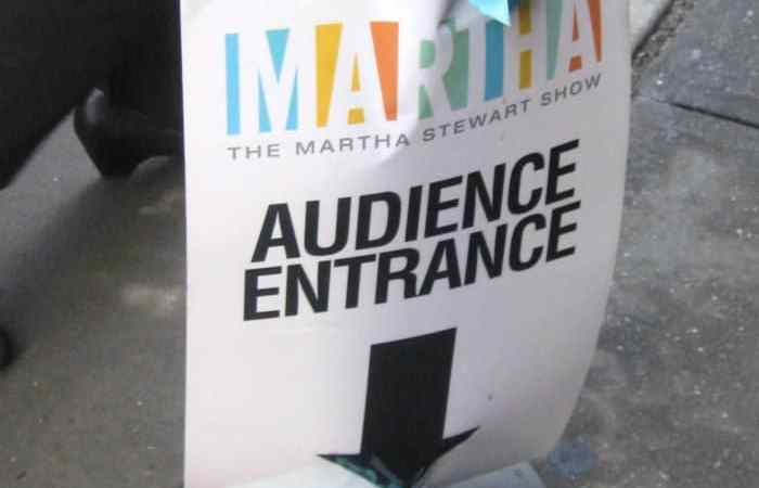 I Attended Martha Stewart's Blogging Show