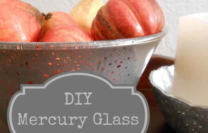DIY Project: Make Your Own Mercury Glass in 5 Minutes