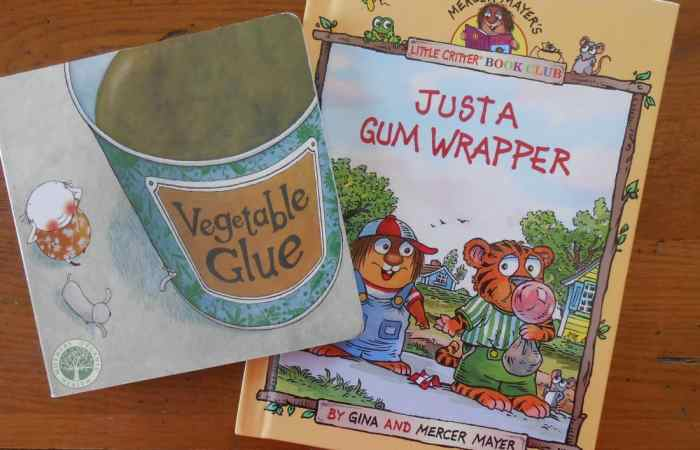 7 Kids Books About Earth Day, Recycling, and Healthy Eating