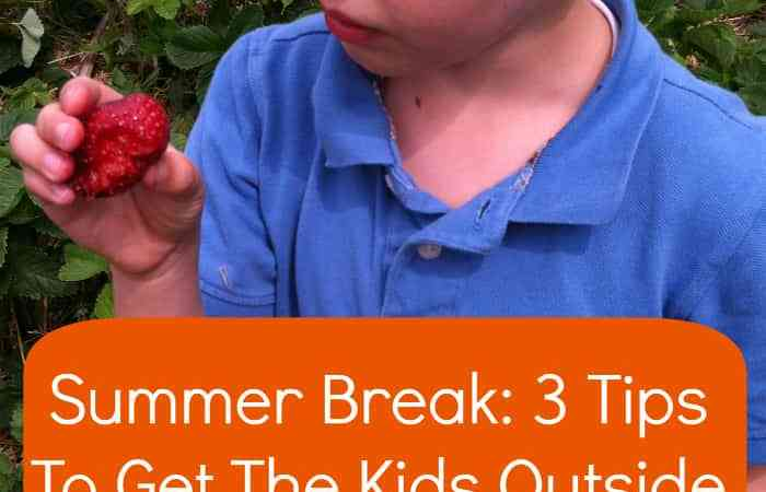 3 Ideas to Get Your Kids Outside During Summer Break