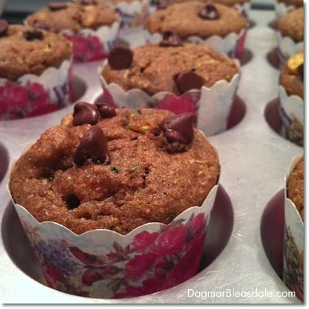 Dagmar's Home: zucchini banana muffin recipe