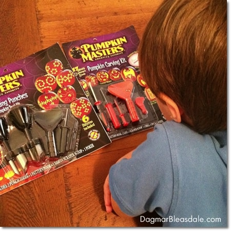 Family Fun With Pumpkin Masters Carving Kits