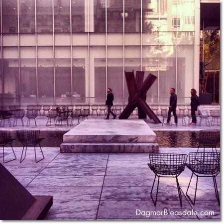 sculpuure garden at MoMA, NYC