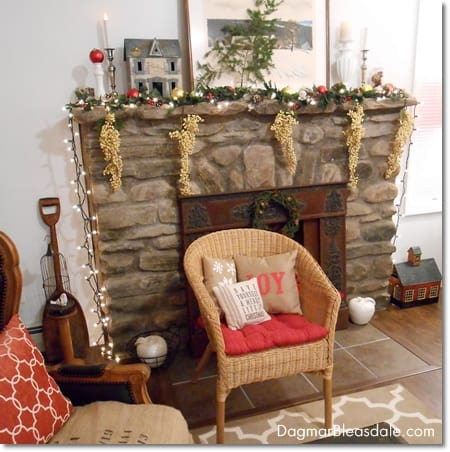 Blue Cottage Christmas House Tour