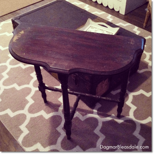 thrifty find: little side table