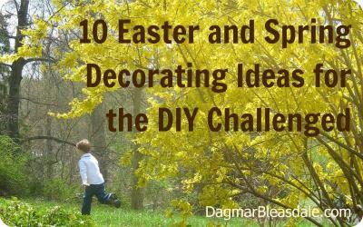 Last-Minute Easter DIY Decorations