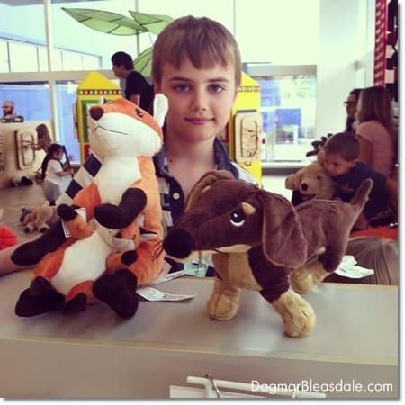 Ikea fox and dachshund