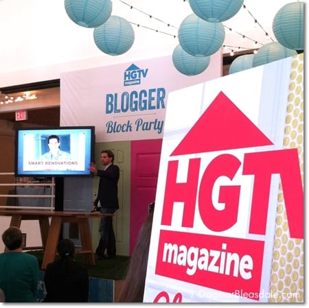 Scott McGillivray at HGTV Blogger Block Party
