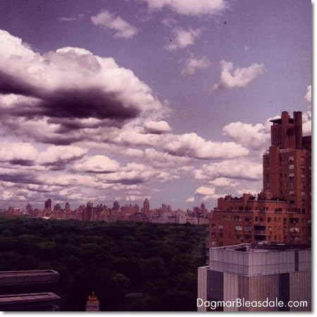 view of Central Park, NY