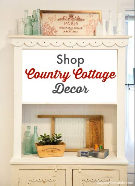 shop country cottage decor