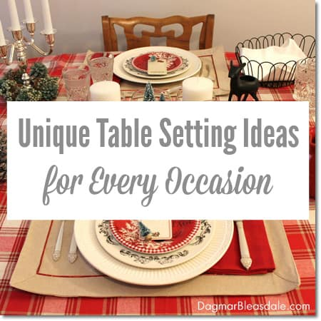 table settings for every occasion