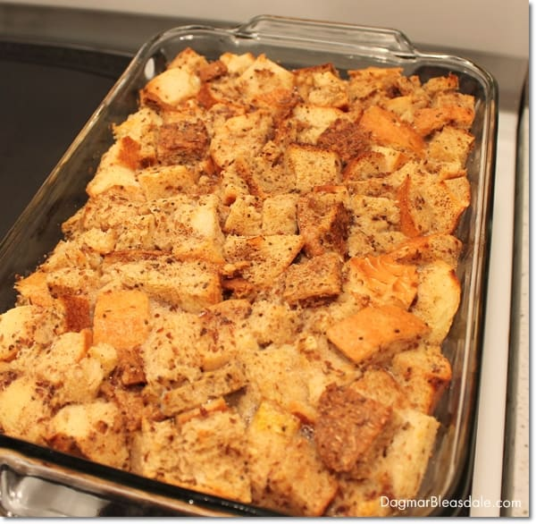 easy bread pudding recipe with stale bread and ripe banana