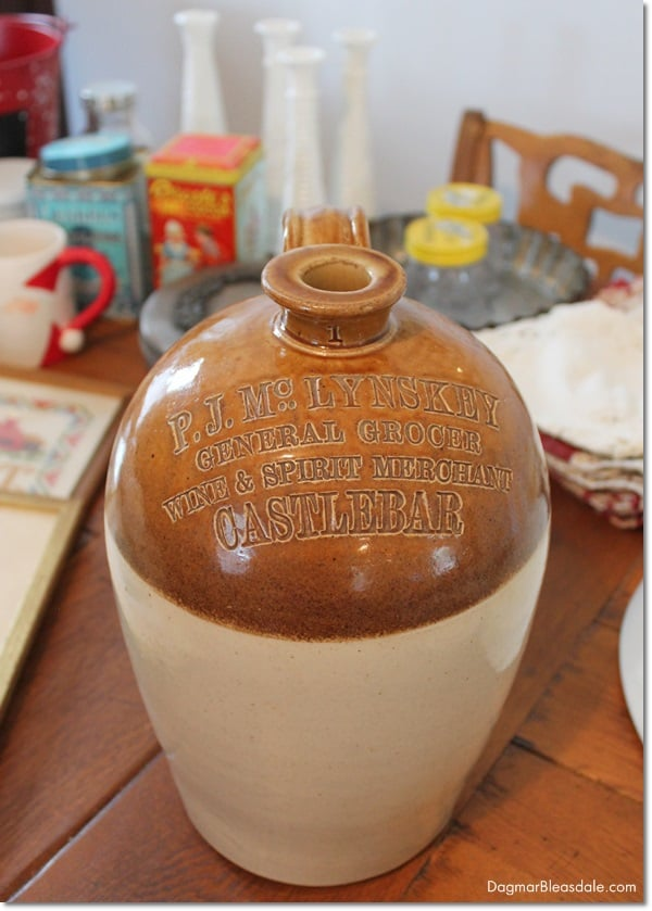 Port Dundas Pottery, whistkey jug, Scotland