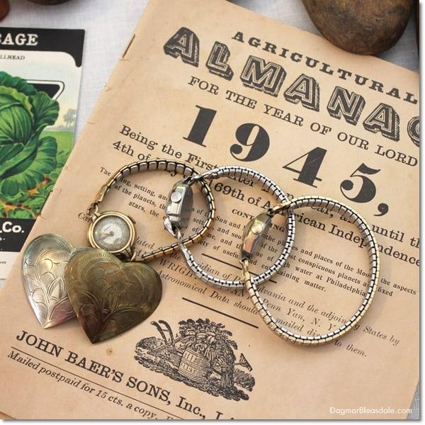 vintage almanac, DagmarBleasdale.com